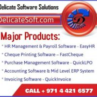 Cheque Printing System by Delicate Software