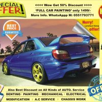 crazy offer FULL CAR PAINTING only 1499/-