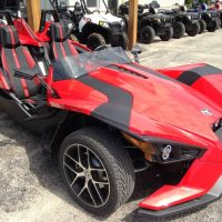 2016 Slingshot Red Pearl Demo and BLACK PEARL Cost 19000$