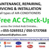A/c Services (Free Inspection) 055-5990323