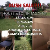 Rush Sale: House and Lot in Tagaytay PH