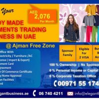 Freezone Garments Trading Import & Export License