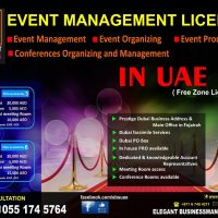 +971-055 174 5764==Events Management on installments to 6 visa's 3