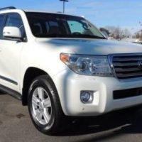 TOYOTA LAND CRUISER 2014 WHITE COLOR
