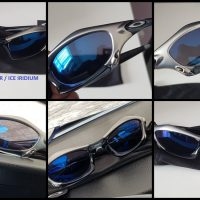 Oakley Splice Silver Ice Iridium