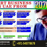 General Trading/ Tourism/Logistic/ E –Commrece/ HR/ IT license in UAE With Flexible Monthly Installments