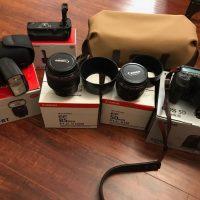 Canon EOS 5D Mark III 22.3MP Digital SLR Camera .