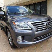 MY LEXUS LX 570 SUV FOR SALE