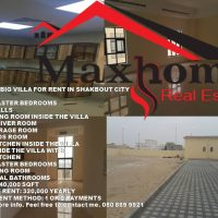 VERY BIG VILLA FOR RENT IN SHAKBOUT CITY