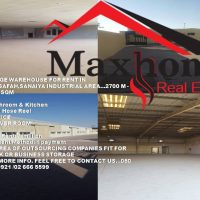 A HUGE WAREHOUSE FOR RENT IN MUSSAFAH, SANAIYA INDUSTRIAL