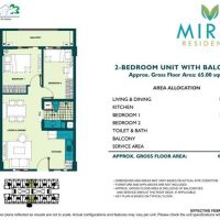 2 bedroom unit near Eastwood, Pasig City, PH