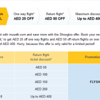 Musafir: Get Up to AED 400 Off on Flight Ticket Bookings