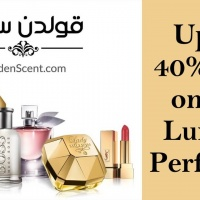 Golden Scent—Up to 40% Off on Luxury Perfumes