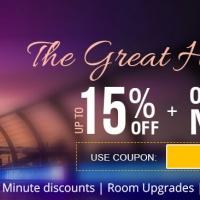 The Great Hotel Sale – Upto 15% Off + One Night Free
