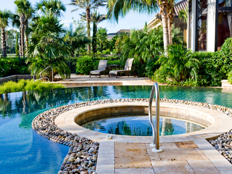 Landscape architecture for Pool design dubai