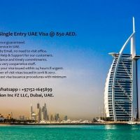 90 Days UAE Visa @ 900 AED