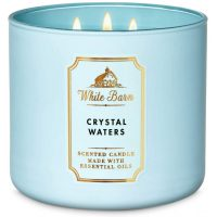 Bath and Body Works White Barn Crystal Waters 3-Wick Scented Candle 411g