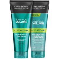 John Frieda Luxurious Volume Core Restore Shampoo + Conditioner 250ml